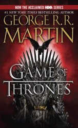 Book cover for a game of thrones paperback